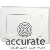 Кнопка для инсталляции Alcaplast, белая M270