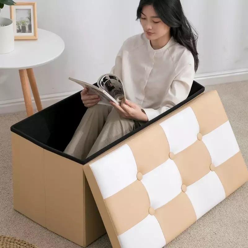 Складной табурет, коробка для хранения - фото 3