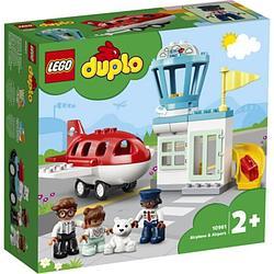 LEGO DUPLO Town Самолет и аэропорт