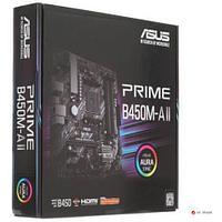 Сист. плата ASUS PRIME B450M-A II, B450, AM4, 4xDIMM DDR4, PCI-E x16, 2xPCI-Ex1, M.2, 4xSATA, D-Sub, HDMI,