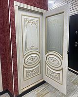 Межкомнатные двери Модель: Новелла ясень золото Глухое, 800