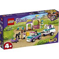 LEGO Friends Тренировка лошади и прицеп для перевозки