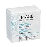 Uriage Экстра обогащенное дерматологическое мыло для ежедневной гигиены для сверхчувствительной кожи 100 г (38