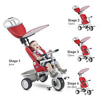 Велосипед Smartrike Recliner Red Gray