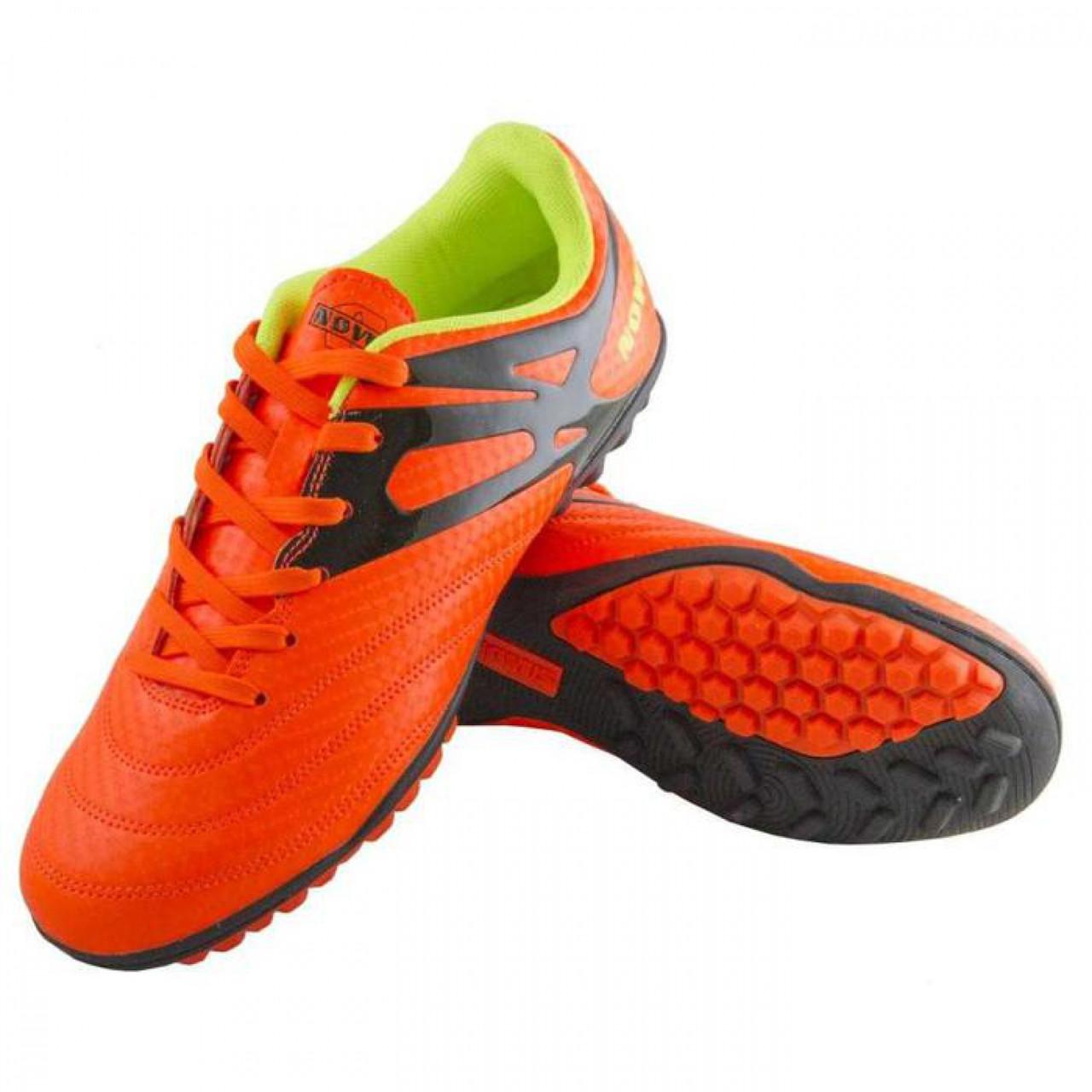 Бутсы футбольные Novus, оранж, NSB-01 INDOOR (31)