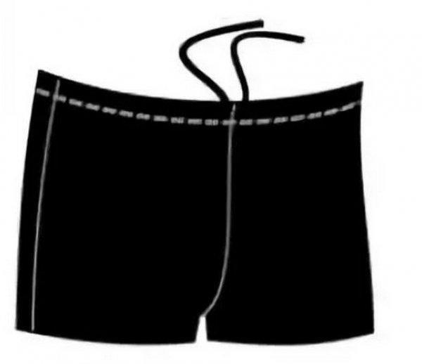Плавки-шорты детские для бассейна, черн., BB 4 1 (30)
