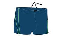 Плавки-шорты детские для бассейна, темно-синий, BB 4 2 (38)
