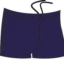 ВМ 5 2 Плавки-шорты мужские для бассейна, темно-синий,  (48)