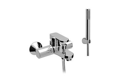 8Z15011-002 Смеситель Teorema Sigma для ванны короткий излив хром (в комплекте)