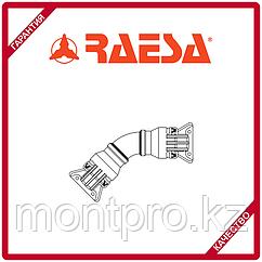 """Отвод 45 алюминиевый с гидравлическим соединением типа """"H"""" RAESA"""