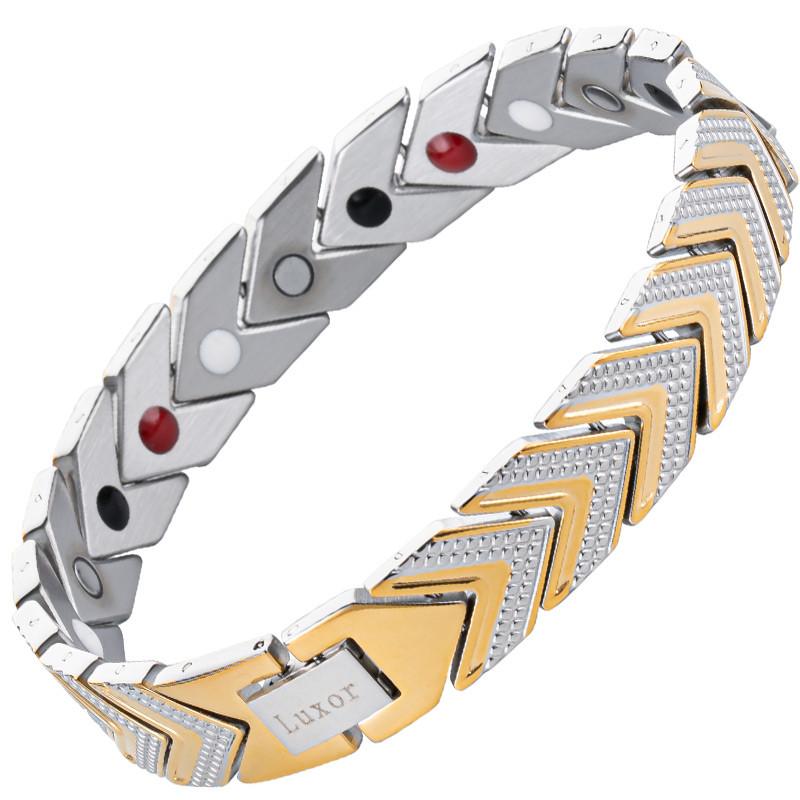 Магнитный браслет Адамантин Gold