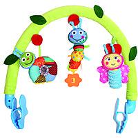 Дуга на коляску Biba Toys Счастливые Гусенички