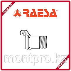 """Муфта с наружной резьбой с гидравлическим соединением типа """"H"""" RAESA"""