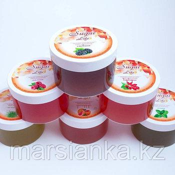 Цветная сахарная паста Fruit Life - Средний гранат, 300гр