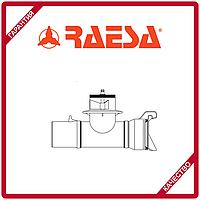 """Тройник с клапаном под гидрант с гидравлическим соединением типа """"H"""" RAESA"""