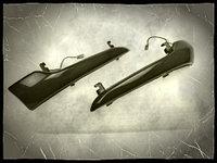 """Тёмные """"бегающие"""" поворотники в зеркала для LADA Granta FL"""