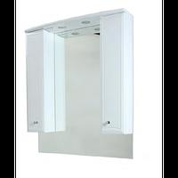 Bourgeois зеркало Am-Pm, частично зеркальный шкаф 85 см 85*108 с подсветкой, белый (M65MPX0851WG32)
