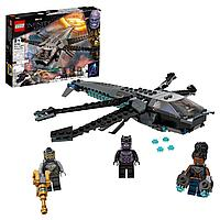 Конструктор LEGO Супер Герои Корабль Чёрной Пантеры «Дракон»