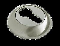 Ключевая накладка MORELLI MH-KH SN/CP, белый никель/полированный хром
