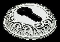 Ключевая накладка MORELLI MH-KH-CLP W/PC, белый/хром