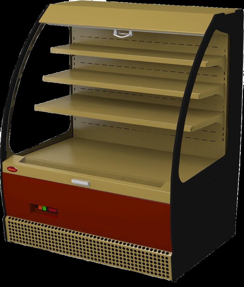 Холодильная витрина Veneto VSo-1,3GK (краш.)
