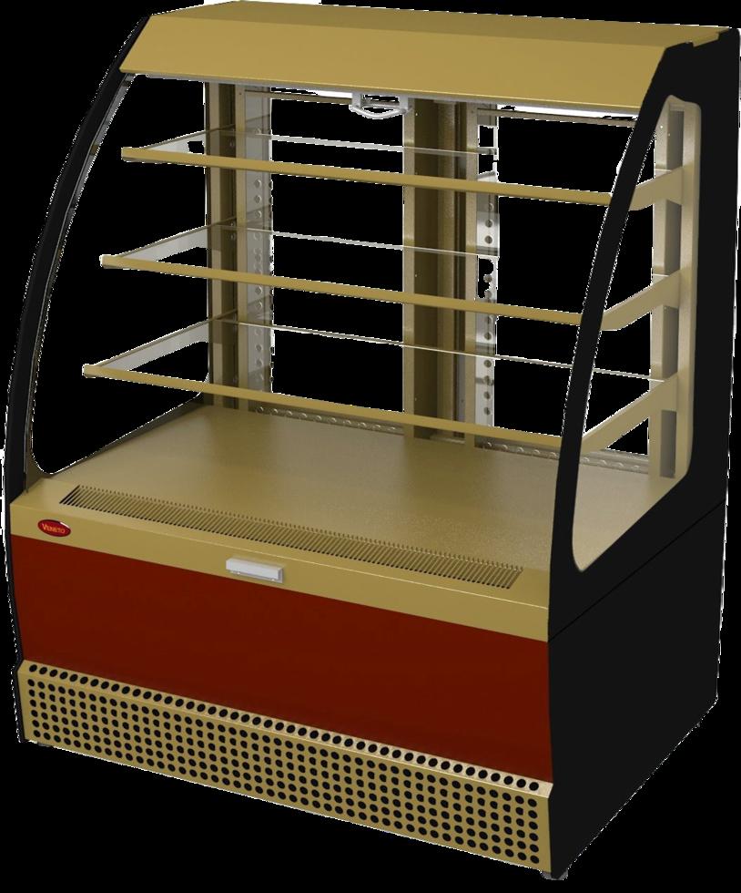 Холодильная витрина Veneto VSo-1,3 (краш.)