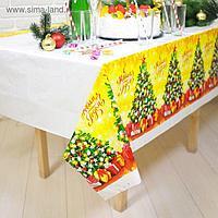 Скатерть «С Новым Годом», ёлочка, 180х137см