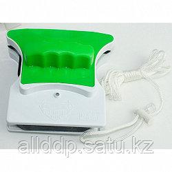 Магнитная щетка для мытья окон с двух сторон (стекло 15-20 мм)