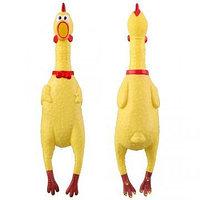 Кричащая (орущая) резиновая курица - 40 см