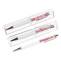 Ручка подарочная в пластиковом футляре - Стразы