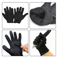 Тактические кевларовые перчатки от порезов