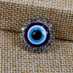 Брошь-оберег мини от сглаза - Глаз-алмаз