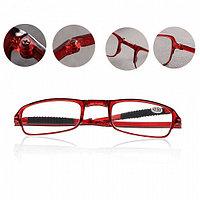 Складные очки - Фокус Плюс, 1 шт. в чехле, красный