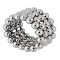 Головоломка магнитная, Неокуб 64 сферы (8 мм), цвет стальной