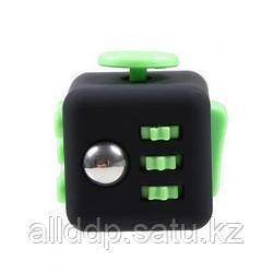 Игрушка кубик антистресс Fidget Cube - зеленый