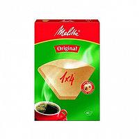 Фильтры бумажные для заваривания кофе Melitta коричневого цвета 1:4