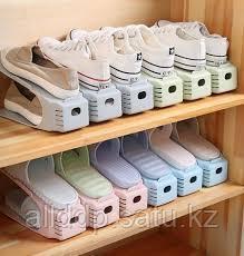 Комплект двойных подставок для обуви Double Shoe Racks (15+2)