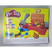 """Набор для лепки """"Изготовление гамбургеров и хот-догов"""" Play-Doh"""
