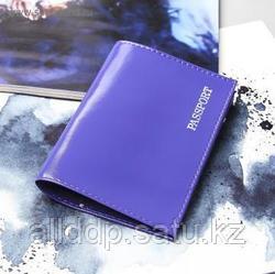 Обложка для паспорта, фиолетовый
