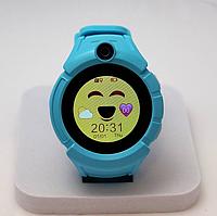Умные детские часы Smart Baby Watch Q610, голубые