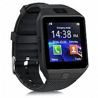 Умные часы DZ09 - Smart Watch DZ-09 - черные, черный ремешок