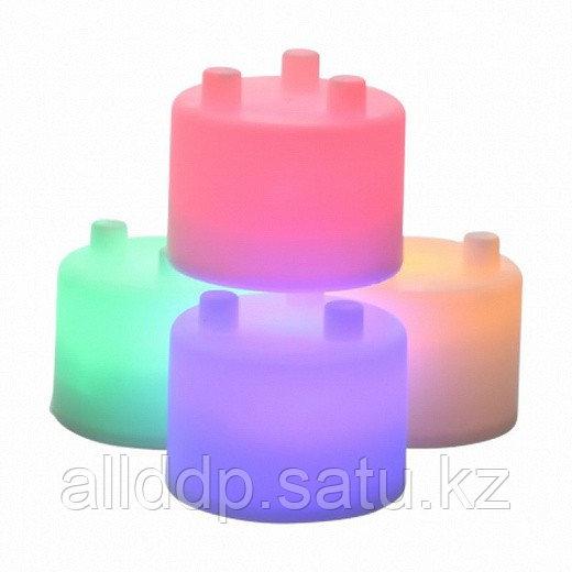 Лампа-ночник из цветных блоков - Семицветик - фото 2