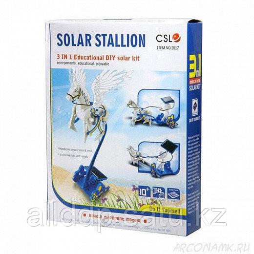 Конструктор на солнечной батарее Solar Stallion 3 в 1 (Пламенный Пегас)