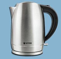 Чайник электрический Vitek с корпусом из нержавеющей стали