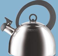 Чайник кухонный металлический Rondell Strike Grey RDS-922