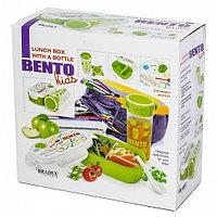 Набор детский (ланч-бокс+бутылка) - Bento Kids