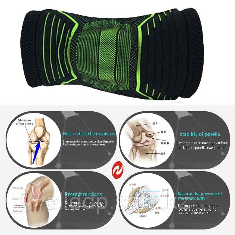 Стабилизатор коленного сустава Pain Relieving Knee Stabilizer - фото 3
