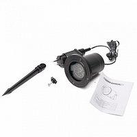 Лазерный проектор с эффектом цветомузыки