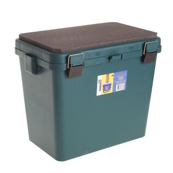 Ящик-М зимний односекционный Helios, цвет зеленый