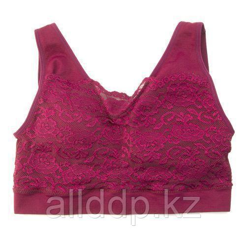 Топ «Ажур Бра», розовый, XL